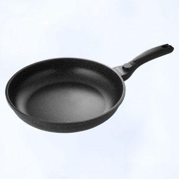 28cm 陶瓷雲石平底鍋